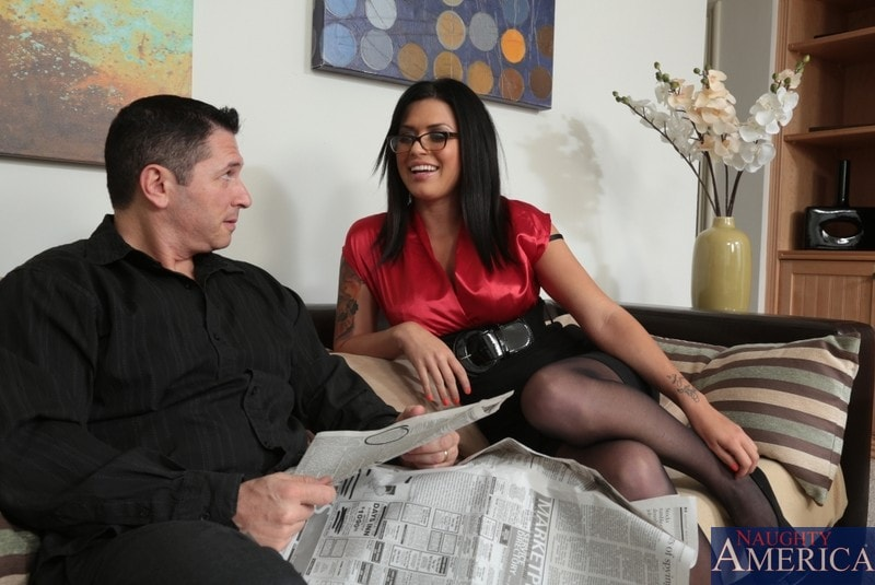 Naughty America 'and John Strong in I Have a Wife' starring Eva Angelina (Photo 1)