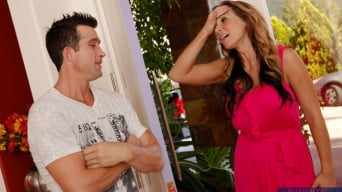 Nikki Sexx in 'and Billy Glide in Neighbor Affair'