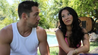 Asa Akira in 'and Johnny Castle in My Dad's Hot Girlfriend'