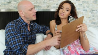 Isis Taylor in 'and Johnny Sins in I Have a Wife'