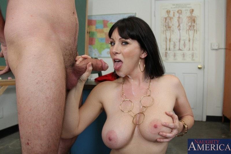 Naughty America 'and Dane Cross in My First Sex Teacher' starring Rayveness (Photo 11)