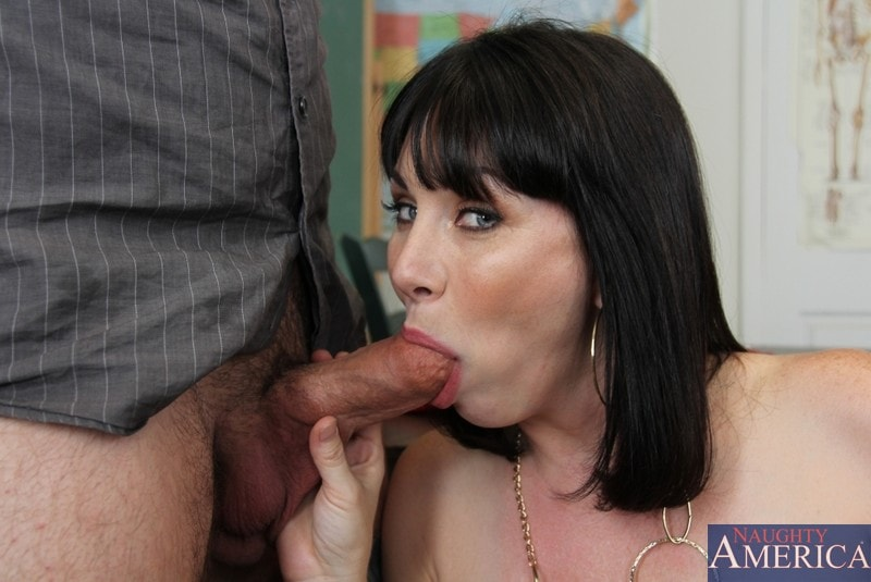 Naughty America 'and Dane Cross in My First Sex Teacher' starring Rayveness (Photo 12)