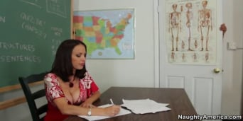 McKenzie Lee in 'and Rocco Reed in My First Sex Teacher'