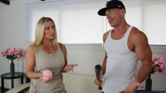 Devon Lee in 'and Johnny Sins in Seduced by a cougar'