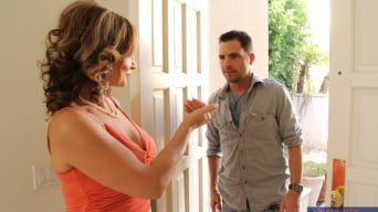 Rebecca Bardoux in 'and Kris Slater in My Friends Hot Mom'