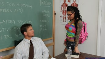 Christy Mack in 'and Justin Magnum in Naughty Bookworms'