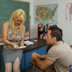 Charlee Chase in 'Naughty America' and Johnny Castle in My First Sex Teacher (Thumbnail 1)