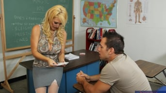 Charlee Chase in 'and Johnny Castle in My First Sex Teacher'