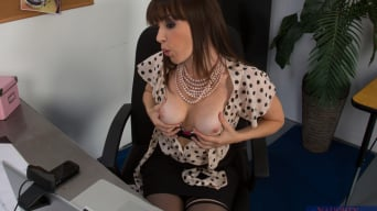 Dana DeArmond in 'and Jordan Ash in Naughty Office'
