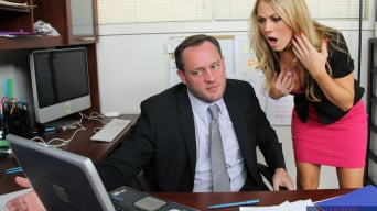 Amber Ashlee in 'and Alec Knight in Naughty Office'
