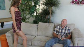 Aiyana Flora in 'and Johnny Sins in My Dad's Hot Girlfriend'