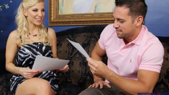 Ashley Fires in 'and Johnny Castle in My Wife's Hot Friend'
