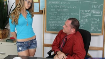 Staci Silverstone in 'and Alec Knight in Naughty Bookworms'
