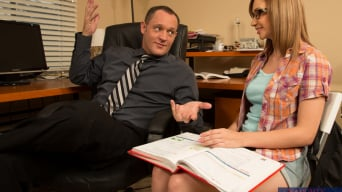 Izzy Taylor in 'and Alec Knight in Naughty Bookworms'