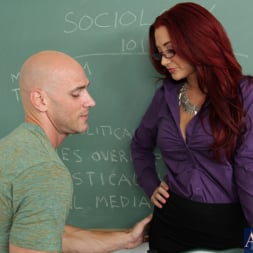 Jayden Jaymes in 'Naughty America' and Johnny Sins in My First Sex Teacher (Thumbnail 1)