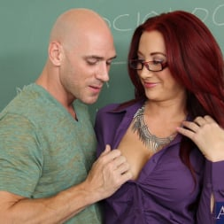 Jayden Jaymes in 'Naughty America' and Johnny Sins in My First Sex Teacher (Thumbnail 2)
