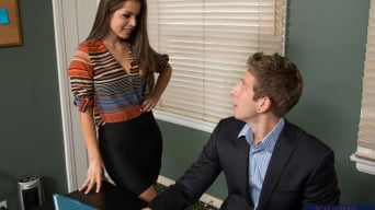 Yurizan Beltran in 'and Danny Wylde in Naughty Office'