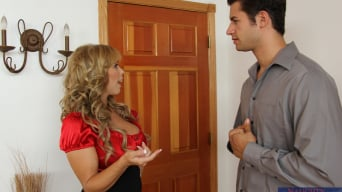 Amber Lynn Bach in 'and Giovanni Francesco in Seduced by a cougar'