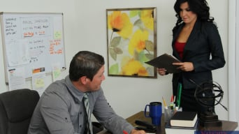Danica Dillon in 'and Aaron Wilcoxxx in Naughty Office'