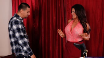 Leena Sky in 'and Anthony Rosano in Seduced by a cougar'