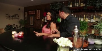 Leena Sky and Anthony Rosano in Seduced by a cougar