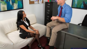 Anissa Kate in 'and Johnny Sins in Naughty Office'