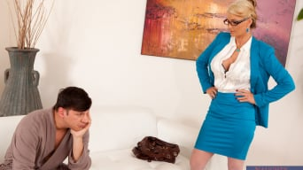 Phoenix Marie in 'and Anthony Rosano in Naughty Office'