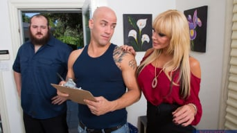 Houston in 'and Derrick Pierce in Seduced by a cougar'