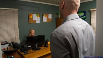 Brandi Love in 'and Johnny Sins in Naughty Office'