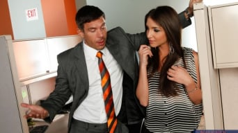 Giselle Leon in 'and Mick Blue in Naughty Office'