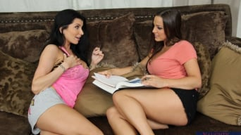 Abigail Mac in 'and Romi Rain in Lesbian Girl on Girl'