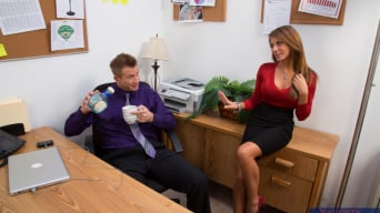 Madison Ivy in 'and Bill Bailey in Naughty Office'