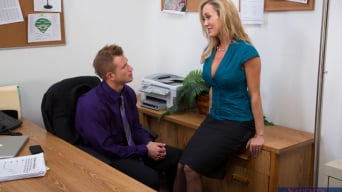 Brandi Love in 'and Bill Bailey in Naughty Office'