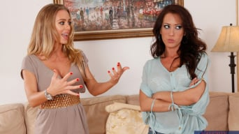 Capri Cavanni in 'and Nicole Aniston in Lesbian Girl on Girl'
