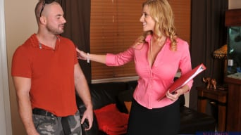 Holly Claus in 'and Mirko in Seduced by a cougar'