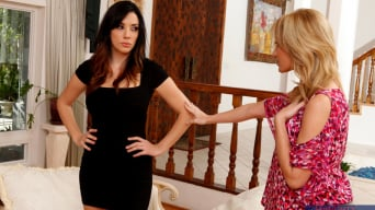 Angela Sommers in 'Lesbian Girl On Girl'