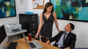 Casey Calvert in 'and Alan Stafford in Naughty Office'