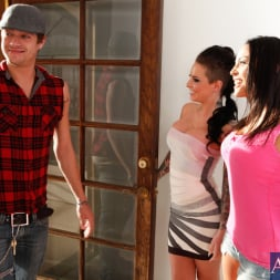 Adrianna Luna in 'Naughty America' Adrianna Luna, Christy Mack and Xander Corvus in 2 Chicks Same Time (Thumbnail 1)