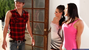 Adrianna Luna in 'Adrianna Luna, Christy Mack and Xander Corvus in 2 Chicks Same Time'