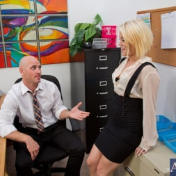 Ash Hollywood in 'Naughty America' and Johnny Sins in Naughty Office (Thumbnail 1)