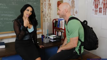 Missy Martinez in 'and Johnny Sins in My First Sex Teacher'