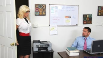 Kaylee Brookshire in 'and Johnny Castle in Naughty Office'