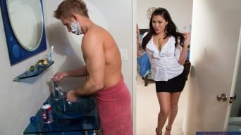 London Keyes in 'and Bill Bailey in My Wife's Hot Friend'