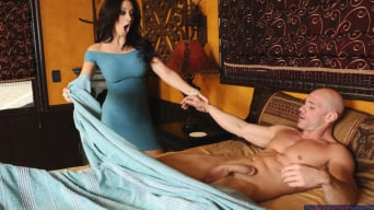 Jayden Jaymes in 'and Johnny Sins in My Wife's Hot Friend'
