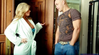 Kristal Summers in 'and Derrick Pierce in My Friends Hot Mom'