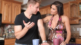 Raven LeChance in 'and Levi Cash in My Friends Hot Mom'