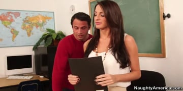 Kortney Kane and Alan Stafford in My First Sex Teacher