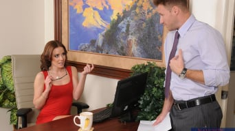 Jasmine Wolff in 'and Levi Cash in Naughty Office'