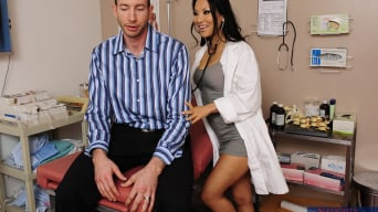 Asa Akira in 'Asa Akira, Jordan Ash and J Pipes in I Have a Wife'