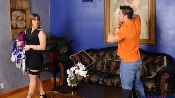 Holly Heart in 'and Johnny Castle in My Friends Hot Mom'